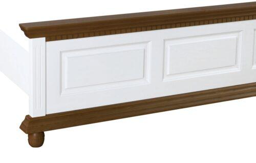 pat Luxus alb cu nuc lemn masiv
