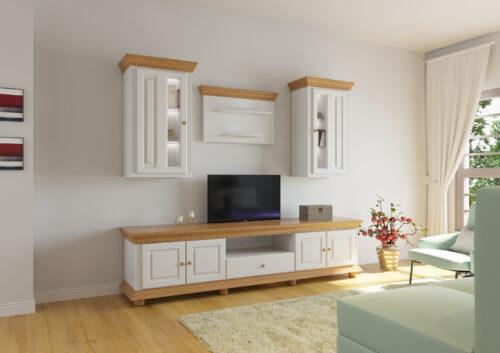 Living Luxus lemn masiv 4 piese