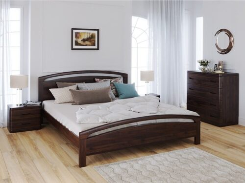 Set dormitor lemn masiv venge