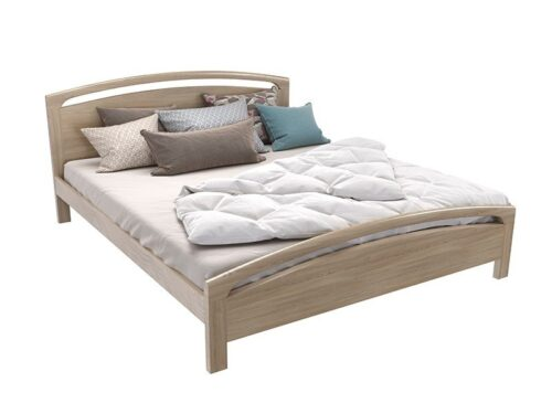 pat dormitor lemn masiv pin