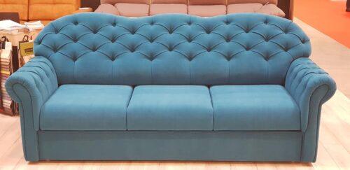 Canapea 3 locuri extensibila Coralia Chester 238 x 93 x 97 cm
