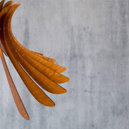 Lustra din lemn rustic pentru camera sau foisor