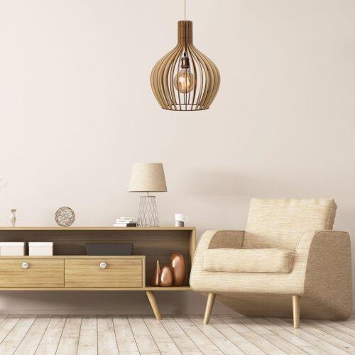 Lustra din lemn fabricate in Romania - Lustre sufragerie sau lustra hol