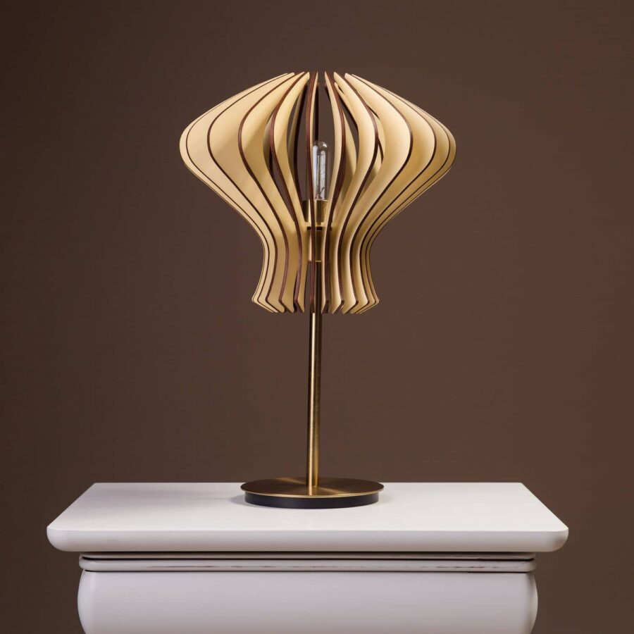 Lampa handmade pentru birou sau noptiera