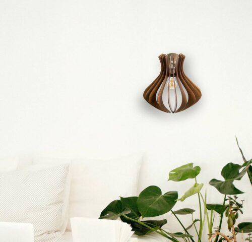 Aplica din lemn fabricata in Romania, 100% handmade